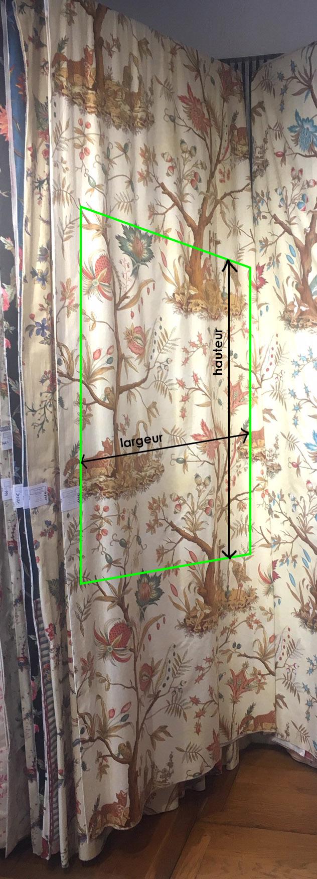 RE: Calcul de mètrage tissus mural en fonction du raccord
